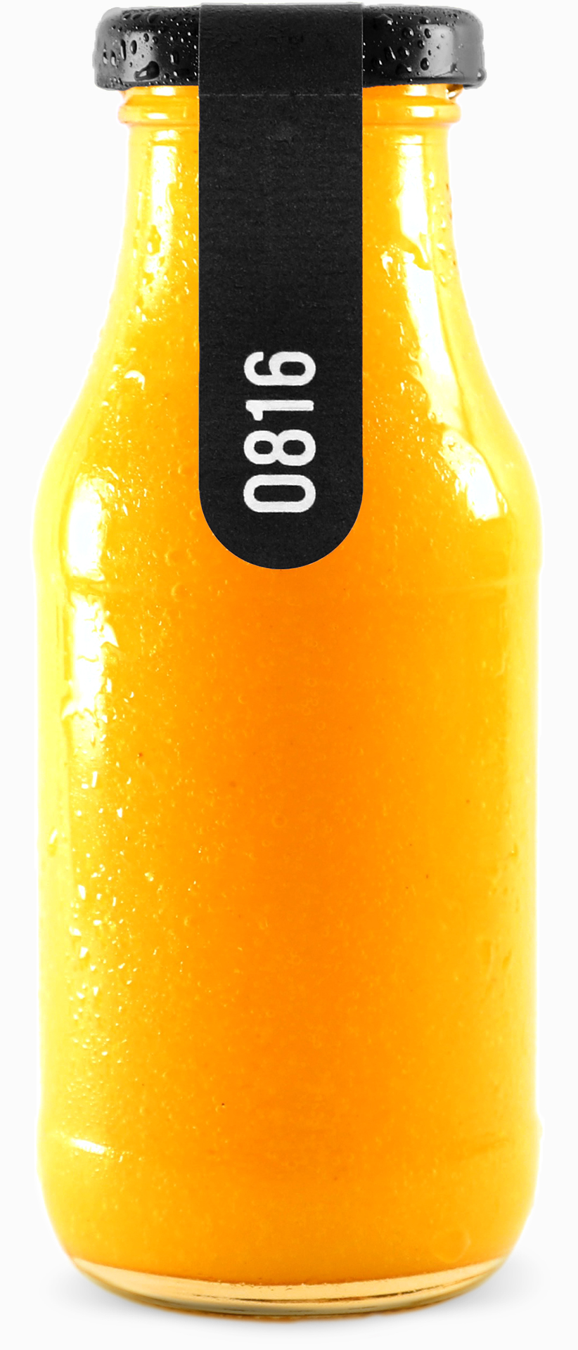 0816 – Bio Mango Smoothie in 270ml Glasflasche.