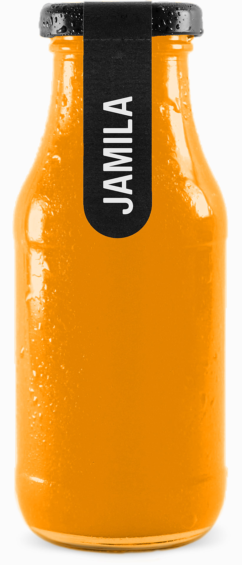 Jamila, Bio indonesicher Heiltrank in 270 ml Glasflasche